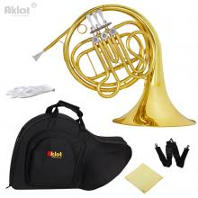 Aklot Intermediate F Single French Horn 3 Keys G...