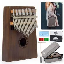 AKLOT Kalimba 17 Tines C Key for Beginner