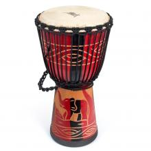 Aklot Djembe Africa Drum Solid Mahogany 10 Inch ...